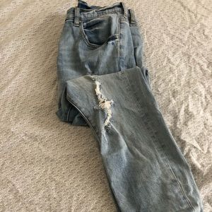 Pacsun Boyfriend Distressed Denim